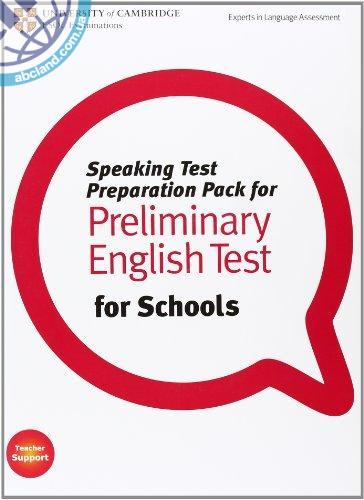 Speaking Test Preparation Pack for PET for Schools + DVD