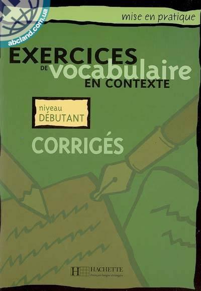 Vocabulaire - De'butant Corrige's