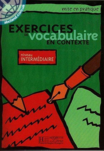 Vocabulaire - Interme'diaire Livre