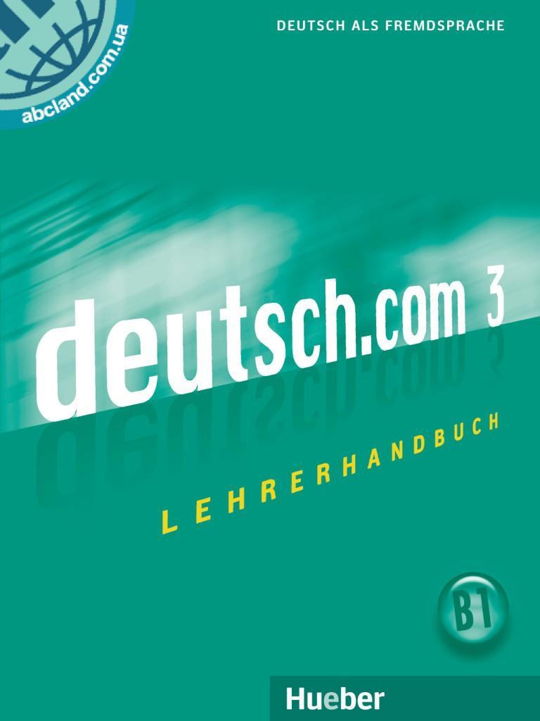 deutsch.com 3. Lehrerhandbuch