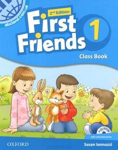 First Friends 2Ed 1 Class Book + MultiROM
