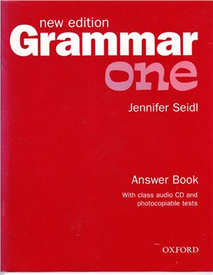 Grammar New Edition One Pack (Answer Book and CD)
