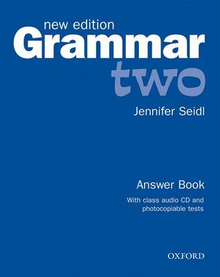 Grammar New Edition Two Pack (Answer Book and CD)