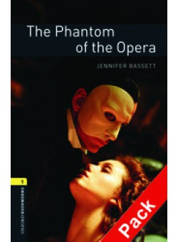 Oxford Bookworms Library 3Edition Level 1 The Phantom of the Opera Audio CD Pack