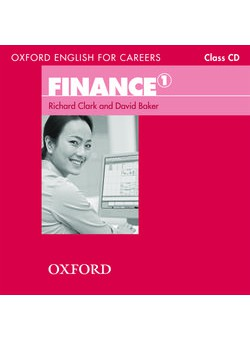 Oxford English For Careers Finance 1 Class  Audio CD