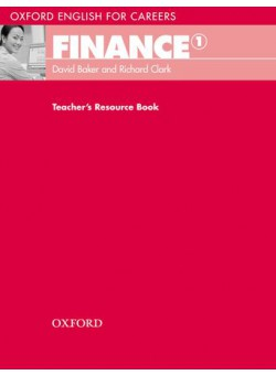 Oxford English For Careers Finance 1 Teacher's Resource Book