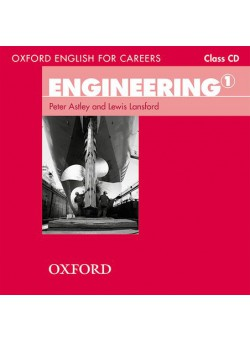 Oxford English for Careers Engineering Class Audio CD