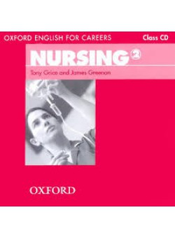 Oxford English for Careers Nursing 2 Class Audio CD