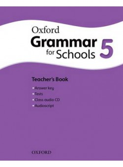 Oxford Grammar For Schools 5 Teacher's Book and Audio CD Pack