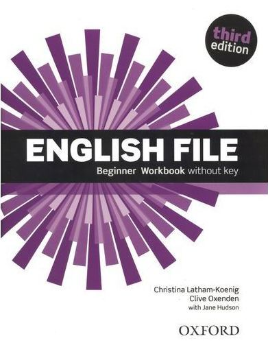 English File Beginner 3rd Ed Workbook with key and iChecker