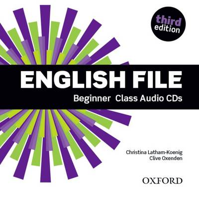 English File Beginner 3rd Ed Class CD