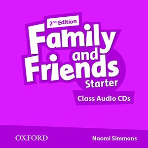 Family and Friends 2Ed Starter Starter Class Audio CD (2 Discs)