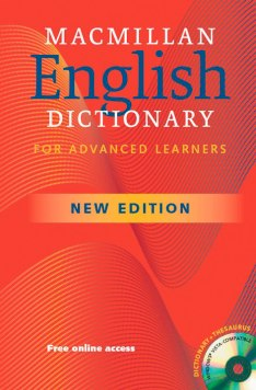 Macmillan English Dictionary Advanced International Student Edition + CD-ROM