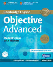Objective Advanced 4th Edition SB + key + CD-ROM