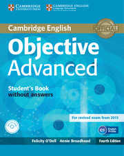 Objective Advanced 4th Edition SB w/o key + CD-ROM