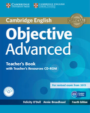 Objective Advanced 4th Edition TB + Teacher's Resources CD-ROM