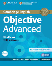 Objective Advanced 4th Edition WB + key + Audio CD
