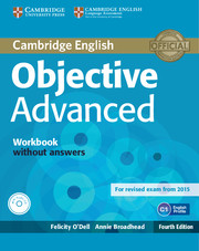 Objective Advanced 4th Edition WB w/o key + Audio CD