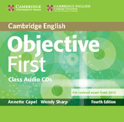 Objective First 4th Edition Audio CDs