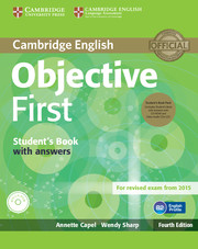 Objective First 4th Edition SB + key + CD-ROM + Audio CDs