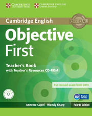Objective First 4th Edition TB + Teacher's Resources CD-ROM