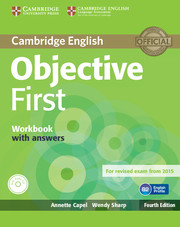 Objective First 4th Edition WB + key + Audio CD