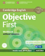 Objective First 4th Edition WB w/o key + Audio CD