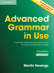Advanced Grammar in Use 3rd Edition + key