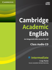 Cambridge Academic English Intermediate Class CD