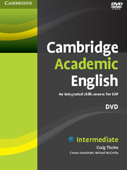Cambridge Academic English Intermediate DVD