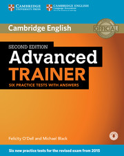 Cambridge Advanced Trainer 2nd Edition Six Practice Tests + key + Downloadable Audio