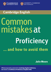 Common Mistakes at Proficiency