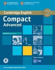 Compact Advanced Workbook + key + Downloadable Audio
