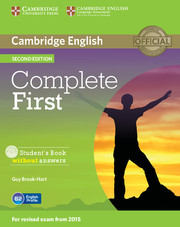 Complete First 2nd Edition Student's Book without key + CD-ROM
