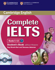 Complete IELTS Bands 5-6.5 Student's Book without key + CD-ROM