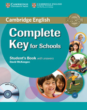 Complete Key for Schools Student's Book + key + CD-ROM