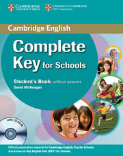 Complete Key for Schools Student's Pack (Student's Book without key + CD-ROM