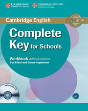 Complete Key for Schools Workbook without key + Audio CD