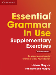 Essential Grammar in Use 4th Edition Supplementary Exercises + key