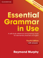 Essential Grammar in Use 4th Edition + key
