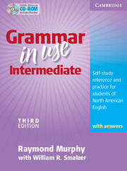 Grammar in Use 3rd Edition Intermediate Student's Book + key + CD-ROM (US)