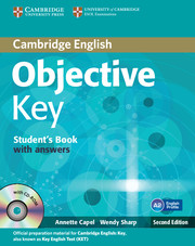 Objective Key 2nd Edition Student's Book + key + CD-ROM