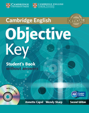 Objective Key 2nd Edition Student's Book without key + CD-ROM