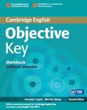 Objective Key 2nd Edition Workbook without key