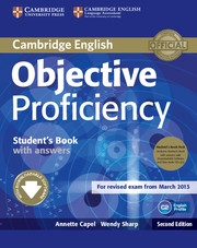 Objective Proficiency 2nd Edition Student's Book + key + Class Audio + Downloadable Software
