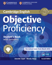 Objective Proficiency 2nd Edition Student's Book + key + Downloadable Software