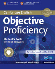 Objective Proficiency 2nd Edition Student's Book without key + Downloadable Software