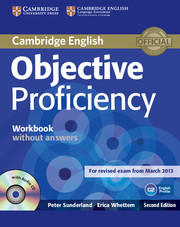 Objective Proficiency 2nd Edition Workbook without key + Audio CD