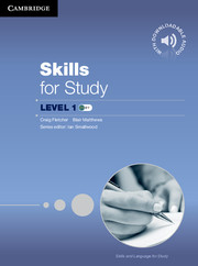 Skills for Study 1 Student's Book + Downloadable Audio