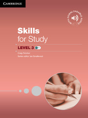 Skills for Study 3 Student's Book + Downloadable Audio